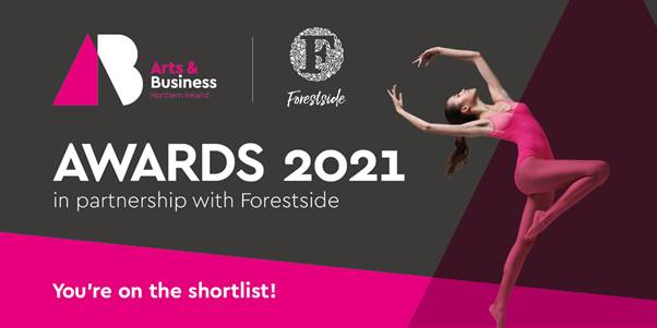 On the shortlist for Arts&Business Awards 2021